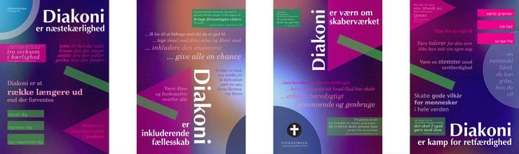 Diakoni-plakaterne - til inspiration og debat - download dem her