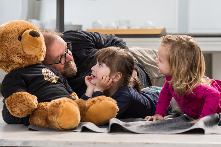 Børn får fortalt historie
