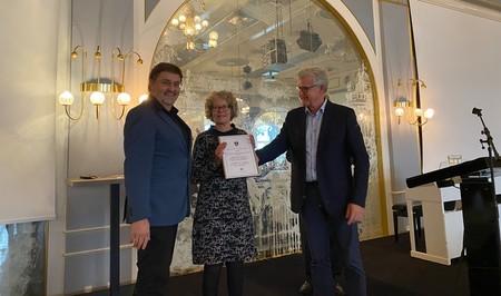 Morten Miland og Hanne Ougaard modtager Initiativprisen