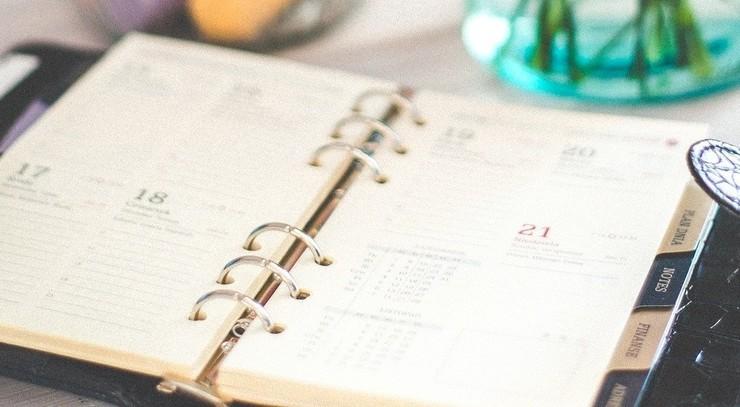 Biskoppens kalender