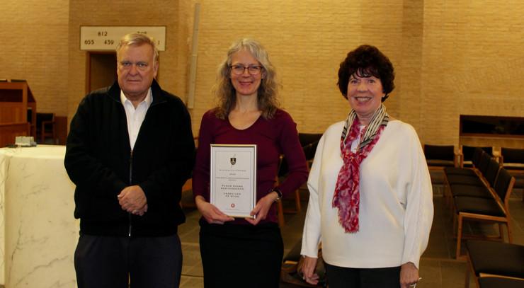 Doris Pihl Linkenkær sammen med Søren Ødum og Lise-Lotte Rebel