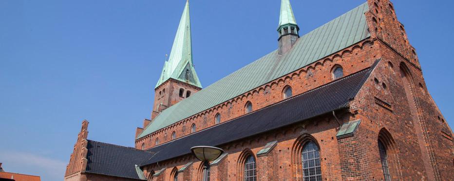 Helsingør Domkirke set bagfra