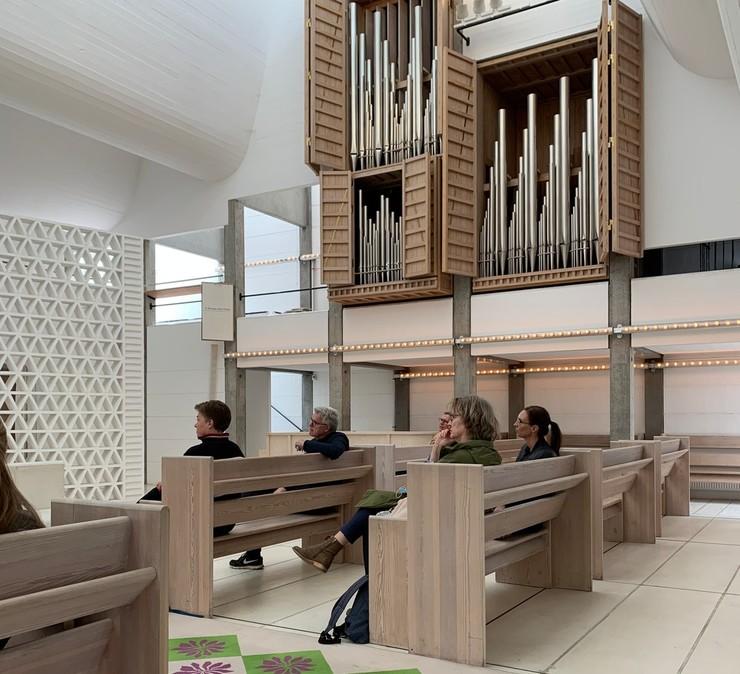 Kirkerummet i Bagværd Kirke