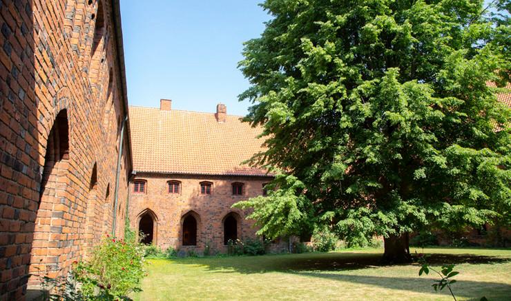 Karmeliterklostrets indergård
