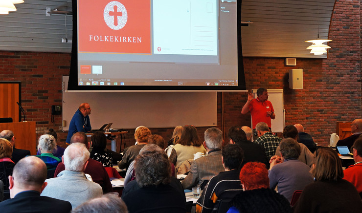 De to distriktsforeninger i Helsingør Stift
