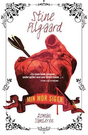 bogforside af Stine Pilgaard, Min mor siger