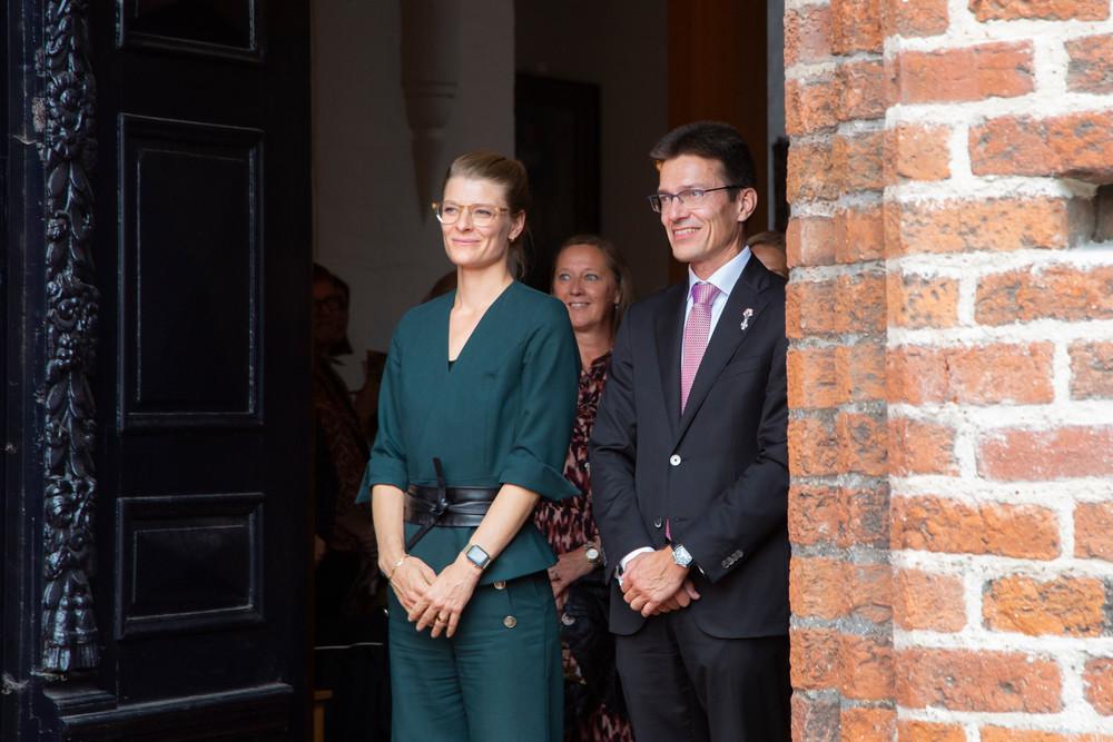 Kirkeminister Ane Halsboe-Jørgensen